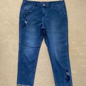 Soft Surroundings Floret Jeans